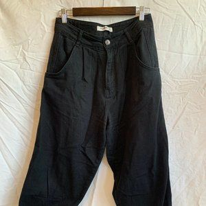 Pull&Bear High-Waisted Balloon Trousers